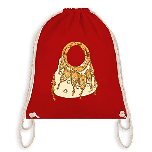 Typisch Frauen - Handtasche - Turnbeutel I Gym Bag Rot
