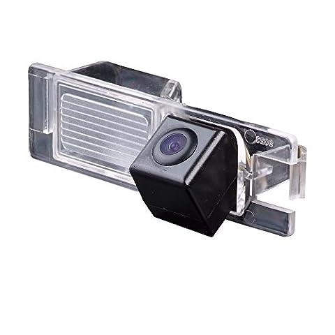 Kalakus Auto HD Sony CCD Rückfahrkamera 170° Weitwinkel mit Radar Sensor Einparkhilfe Universal für NTSC, Schwarz für Sony CCD Opel Vauxhall Signum 2003 Lova Aveo Cruze/ Astra Corsa Zafira Vectra Insignia Haydo Chevrolet Cruze Epica car camera