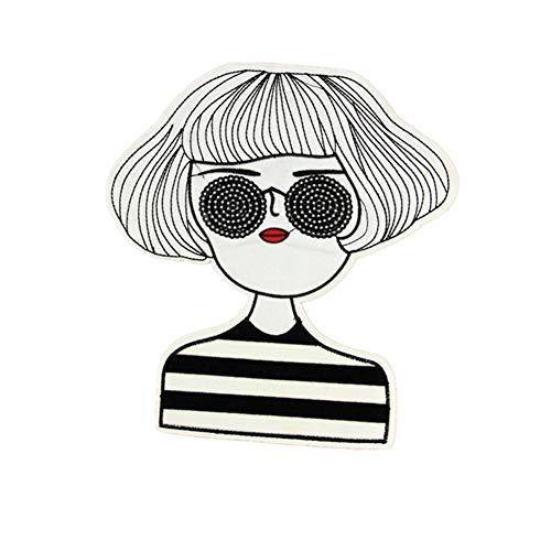 kt Tuch Paste Stickerei Mädchen High-End Kleidung Zubehör Tasche Patch Stoffbeutel Aufkleber ()