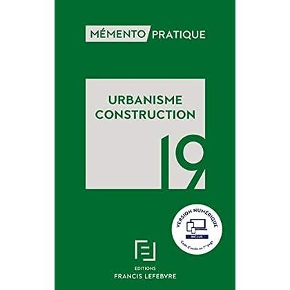 Mémento Urbanisme Construction 2019