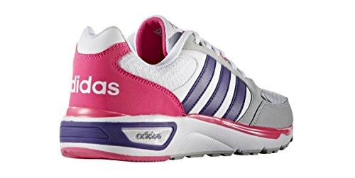 adidas Damen Cloudfoam 8tis W Turnschuhe Weiß (Ftwbla / Puruni / Rosimp)