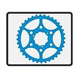 Best Kids Bike Locks - Mouse Pad Bike Gear Pattern Rectangle Rubber Mousepad Review
