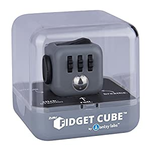 Official Original Zuru Fidget Cube by Antsy Labs - 6 Unique Sides Dice Toy Relieves Stress and Anxiety Attention Toy for Children and Adults