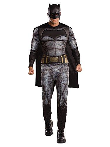 n of Justice Kostüm Deluxe Lizenzware grau schwarz XL ()