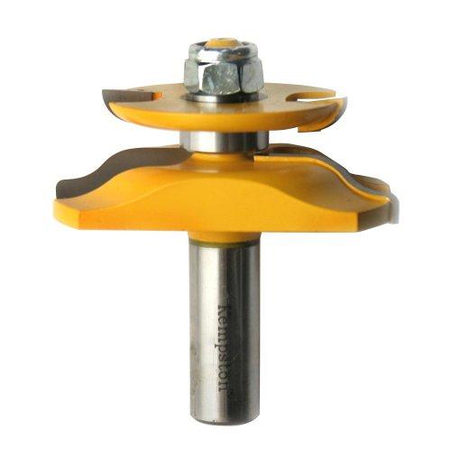 Kempston 403415b Miniatur Raised Panel Bit w/Back Cutter, Ogee 1/2Schaft, 2–1/2Schneiden Durchmesser, 13/32-Zoll Länge (Panel Raised Bit)