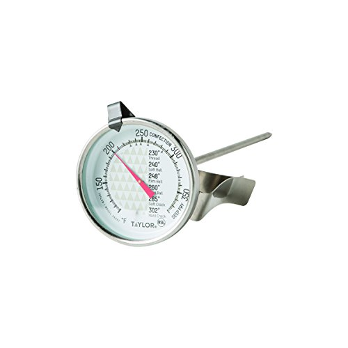 Taylor Classic Candy (Taylor Classic Easy To Read Candy Confections Deep Fryer Jelly Thermometer 3505)