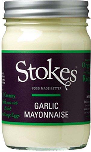 Stokes Garlic Mayonnaise, mit Knoblauch, 371 ml