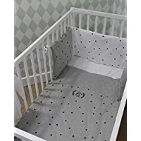 include: Promotion Baby Bed Set Kits In The Crib For Newborns 5pcs Baby Bumper Cot Baby Bedding Set Crib Set 4bumper+sheet