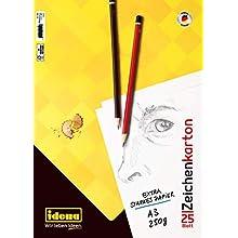 Idena Drawing Cards, FSC-Mix, A3, 25 Sheets, 250 g/m², 10385
