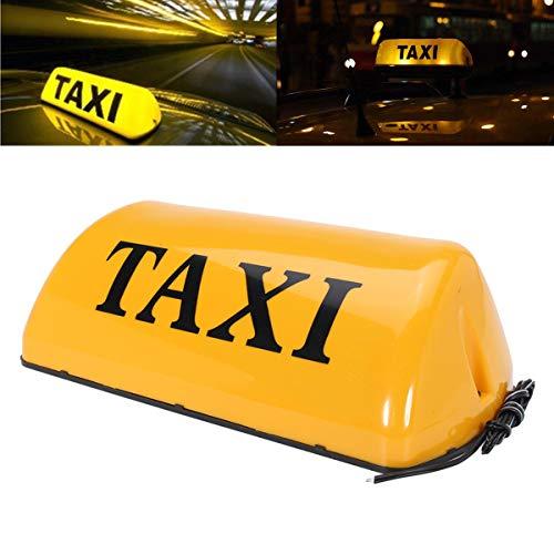 12 V Taxi Toit Panneau Dessus Décoration pour Light Car Panneau magnétique lampe LED étanche