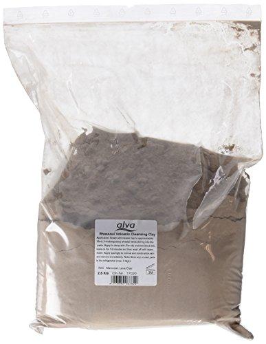 Alle Natürlichen Haar-gel (Alva Rhassoul 6762 Mineralische Wascherde (Powder) 2500 g)