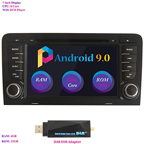 Android 9.0 Autoradio, Hi-azul In-Dash 7