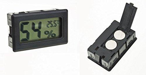 Thermometer/Hygrometer, digital mit LCD, für Wein- oder Zigarrenkeller
