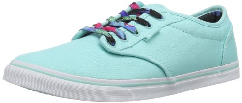 Vans W ATWOOD LOW VU4IATE , Blau (mint/multi), 38.5 EU (Schuhe Canvas Multi)