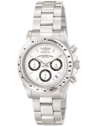 Invicta 9211 - Reloj unisex color blanco / plateado
