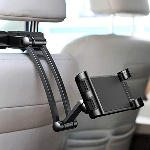 QYQ Auto Handyhalterung, Verstellbare Kopfstütze Und Halterung Für Den Autositz, Für Apple IPad Pro/Air/Mini, Tablets, iPhone, Smartphones 4,5-10,5 Zoll
