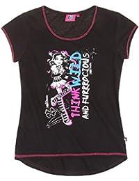 Monster High Kurzarmshirt schwarz (128)
