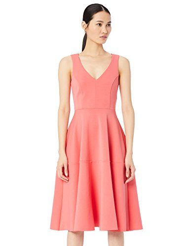 Amazon Brand - TRUTH & FABLE Women's Dress Midi Prom