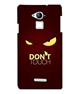 printtech Cool Quotes Back Case Cover for Coolpad Note 3 Lite