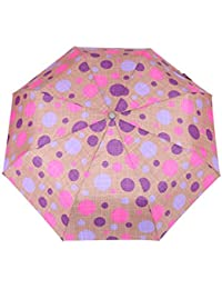 FabSeasons Circular Digital Printed, 3 Fold Fancy Automatic Umbrella For All Rains, Summer And All Seasons