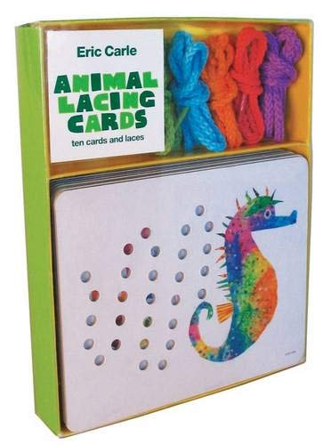 Eric Carle Animal Lacing Cards: 10 Cards & Laces: Ten Cards and Laces (Handwerk Eric Carle)