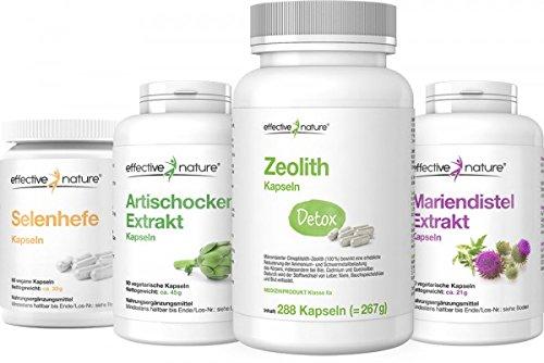 effective nature Intensive Detox-Kur zur Entgiftung des Körpers (Vier Wochen)