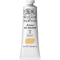 Winsor & Newton Artists - Tubo de pintura al óleo (37 ml), dorado