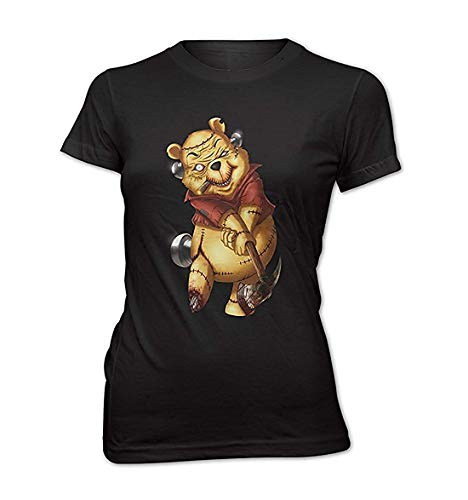rt Killer Pooh Cartoon Golf Teddy Bär Winnie ()