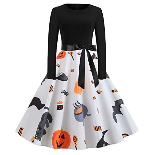 Hausgemachte 50er Jahre Kostüm - Sillor Damen Kleid Halloween Retro