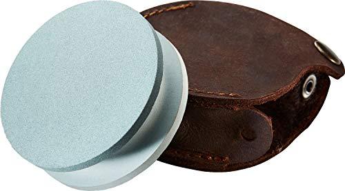 Hultafors 603000 600/180 - Piedra para afilar cuchillos de caza y exteriores, color gris