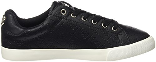 Guess Flmae3 Fal12, Sneakers basses femme Noir
