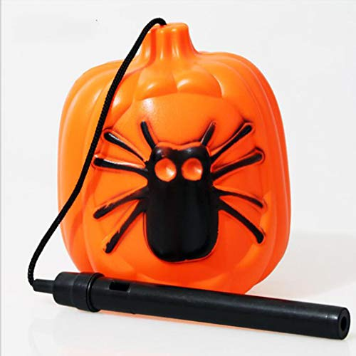 MYYDD Halloween-Dekorationen Spider Kürbis Lichter LED Elektronische Kürbis-Lichter Große Bar Dekorationen LED Electronic Flash Kinderspielzeug