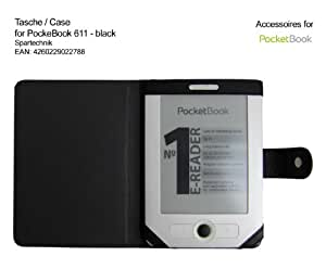 Tasche für PocketBook 611 Pocketbook 613 Basic Obreey Basic New - bestes Case Hülle * für Pocket Book 611 Basic Obreey Lidl E-reader - Elektronisches Buch - schwarz