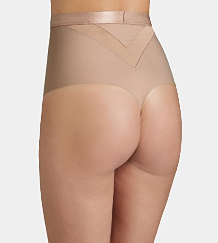 Triumph Damen, Taillenslip, Amazing Sensation Highwaist String Beige (smooth Skin)