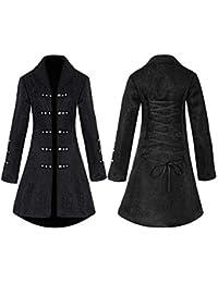 Abrigo Medieval para Mujer con Cordones, Estilo gótico, Estilo Vintage, Estilo Vintage,