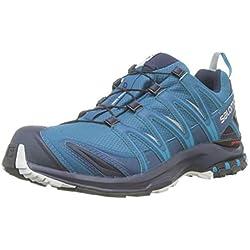 Salomon XA Pro 3D GTX, Zapatillas de Trail Running para Hombre, Azul (Lyons Blue/Navy Blazer/Lunar Rock), 45 1/3 EU