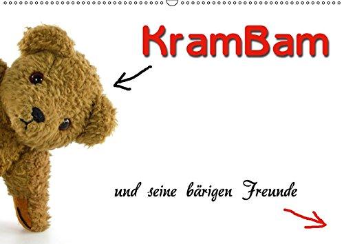 KramBam und seine bärigen Freunde (Wandkalender 2019 DIN A2 quer): Die Teddybären-Bande (Monatskalender, 14 Seiten ) (CALVENDO Spass)