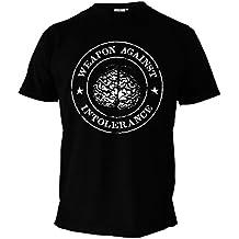 T-Shirt - Weapon Against Intolerance - Punk Hardcore Polit schwarz