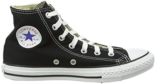 Converse - Youths Chuck Taylor All Star Hi - Sneakers Basses - Mixte Enfant Noir