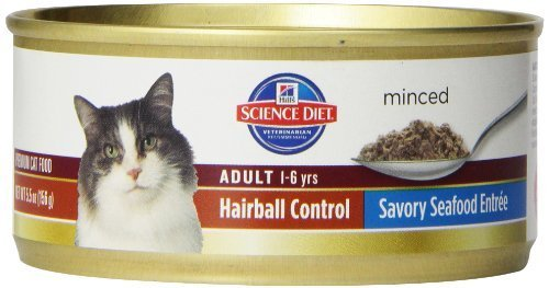 hills-science-diet-adult-hairball-control-savory-seafood-entree-minced-cat-food-55-ounce-can-24-pack