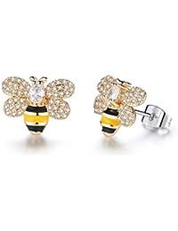 Suchergebnis Auf Amazon De Für Bienen Gold Ohrringe Damen Schmuck
