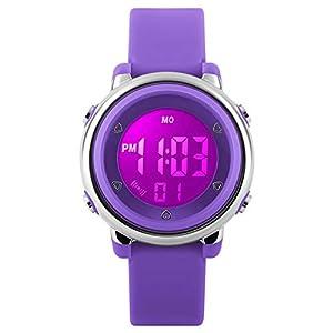 Relojes deportivos digitales para niñas