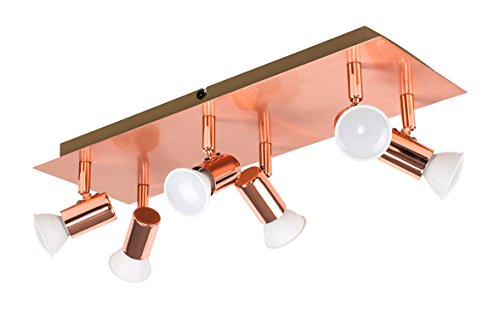Plafoniere Con Spot : Minisun u plafoniera rettangolare moderna e bella con una