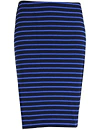 Inwear Striped Fitted Skirt