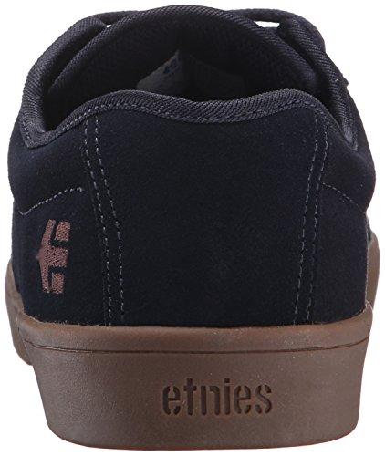 Chaussure Etnies Jameson SL Noir-Blanc-Gum blue
