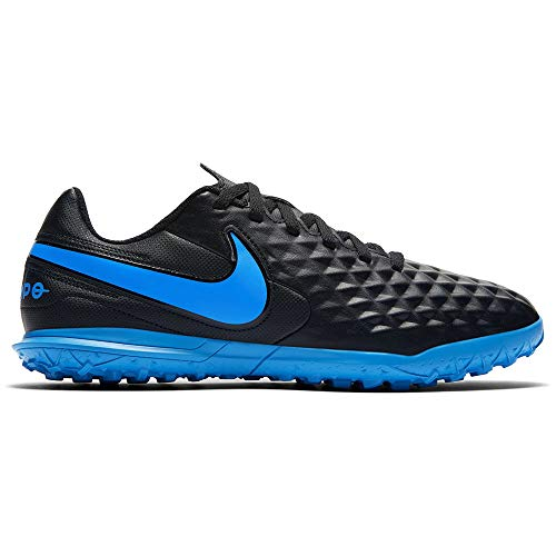 Nike Legend 8 Club TF, Zapatillas de Fútbol Unisex Niños, Negro Black/Blue Hero 004, 37.5 EU