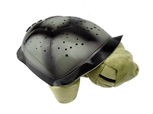 Twilight Turtle Sternenlicht Elefant LED zauberhafter Sternenhimmel-Projektor Nachtlicht Lampe Einschlafhilfe für Baby/Kinder/Erwachsene - superschönes Geschenk (oliv)
