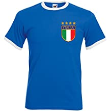 Printmeashirt Para hombre Roberto Baggio Italia Retro camiseta de fútbol