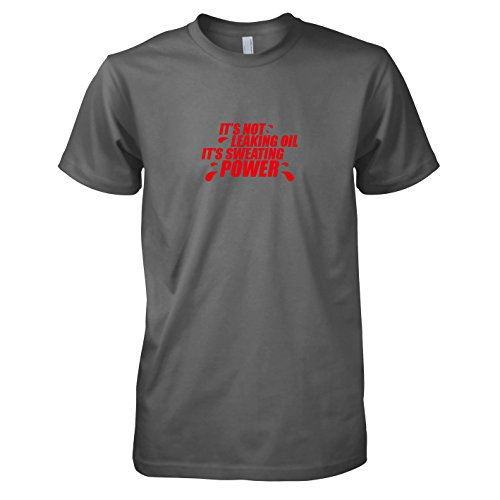 TEXLAB - Sweating Power - Herren T-Shirt Grau