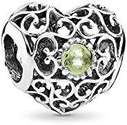 Pandora Women's Heart Charm 925 Sterling Silver - 79